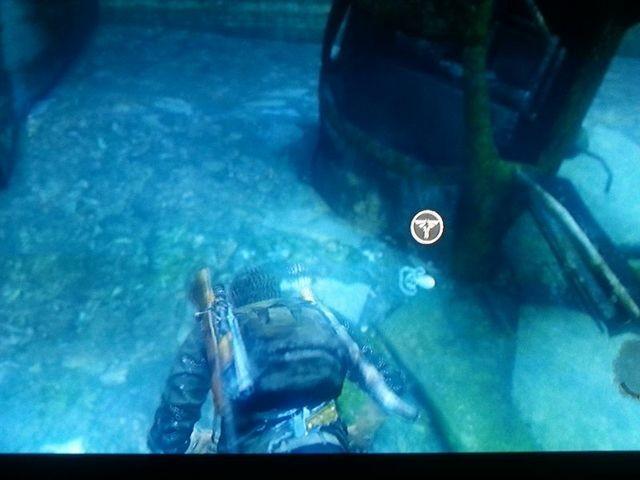 Im Wasser noch ein Firefly-Amulett