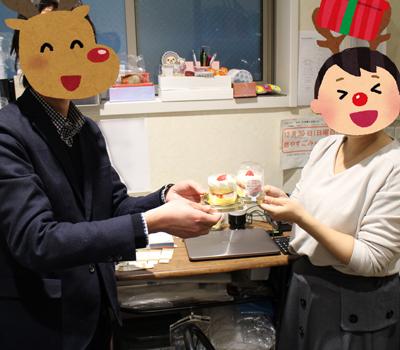 ケーキの写真は忘れませんでした。