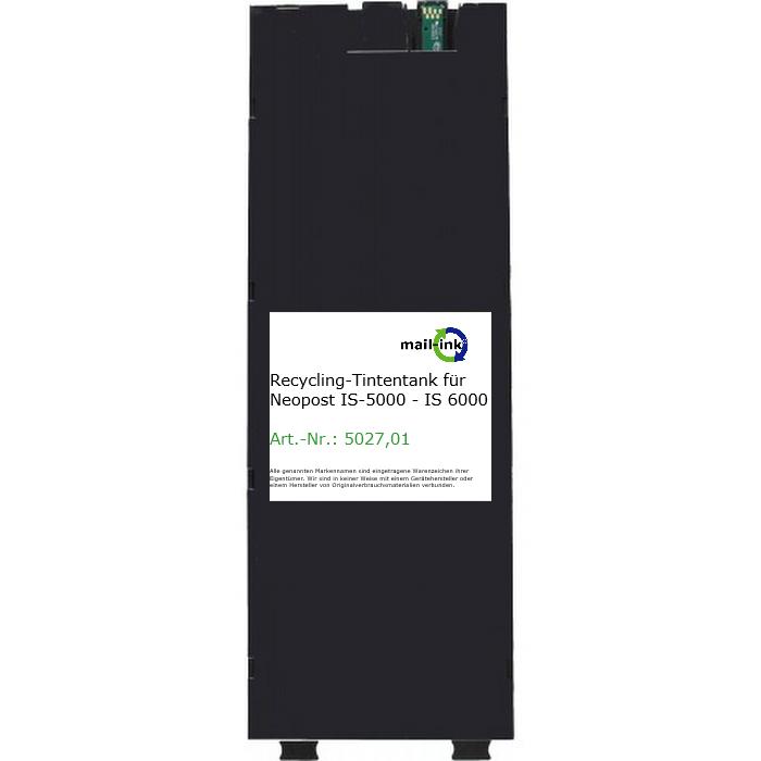 recycelter Tintentank für Neopost IS-5000, IS-6000