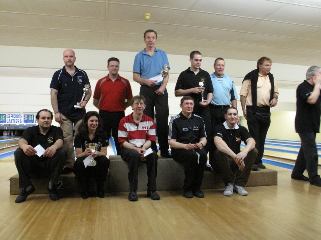 22/11/09 : 8e place en finale Handicap pour Yves STROBBE à Boussy Saint-Antoine