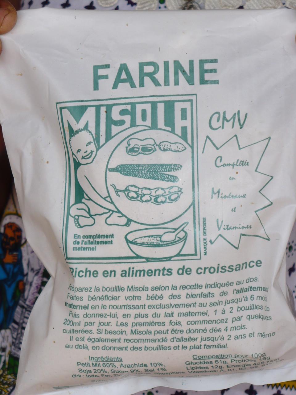 Complément nutritionnel Misola (Mil Soja Arachide)