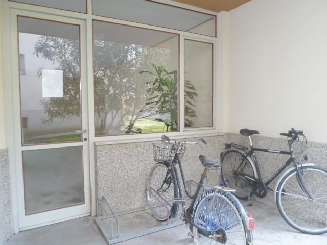 Alloggiamento biciclette interno condominio