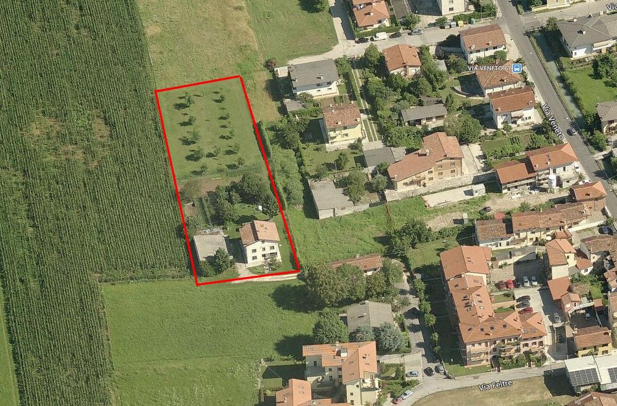 Veduta aerea della proprietà