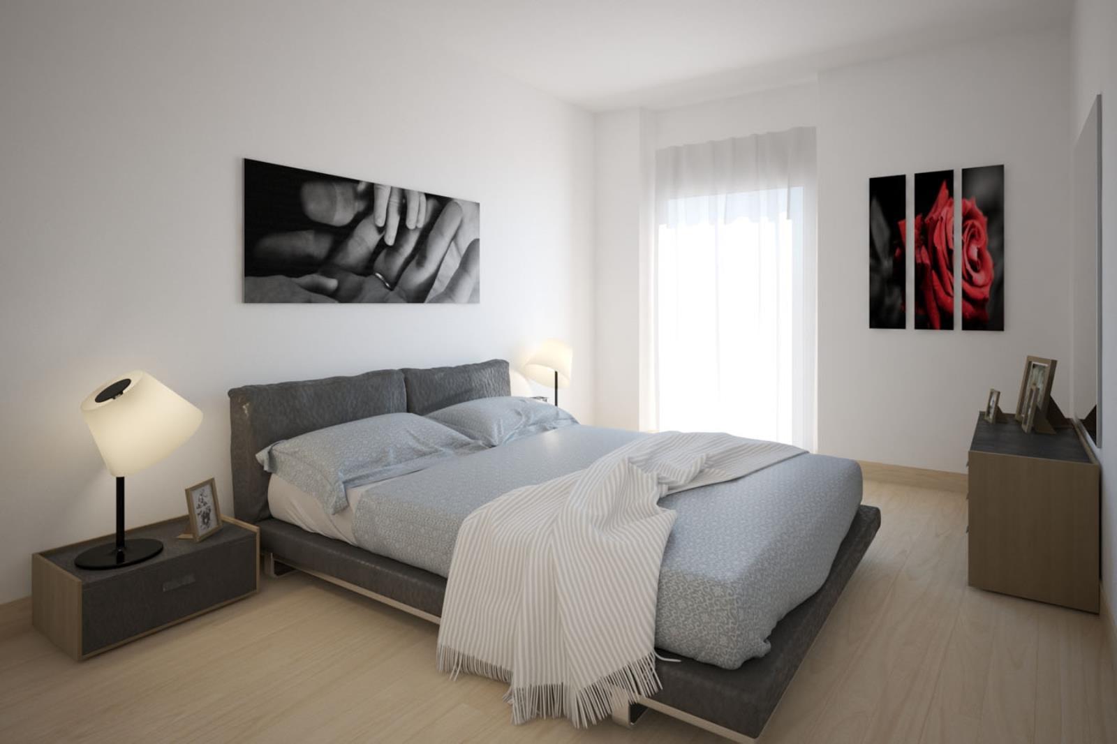 Render camera da letto