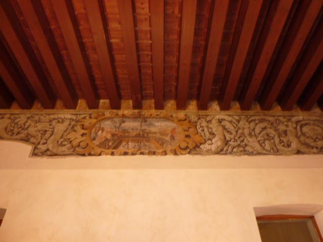 Immagine affresco  Salone rappresentanza palazzetto Cividale del Friuli