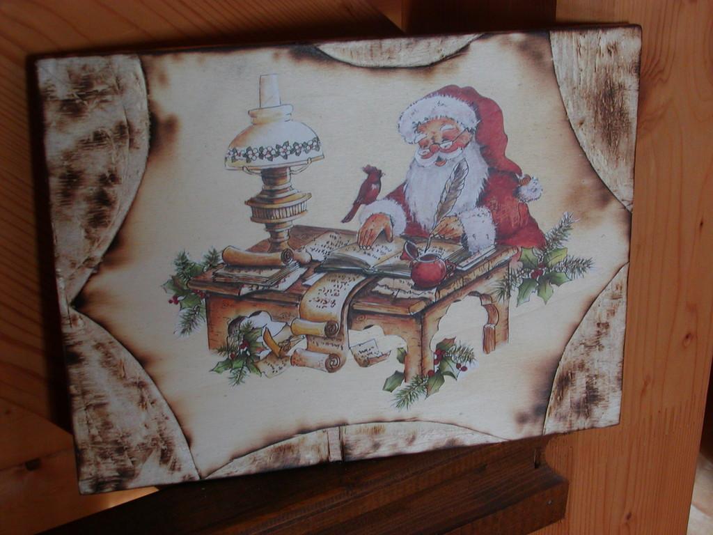 tavola bruciata Natale