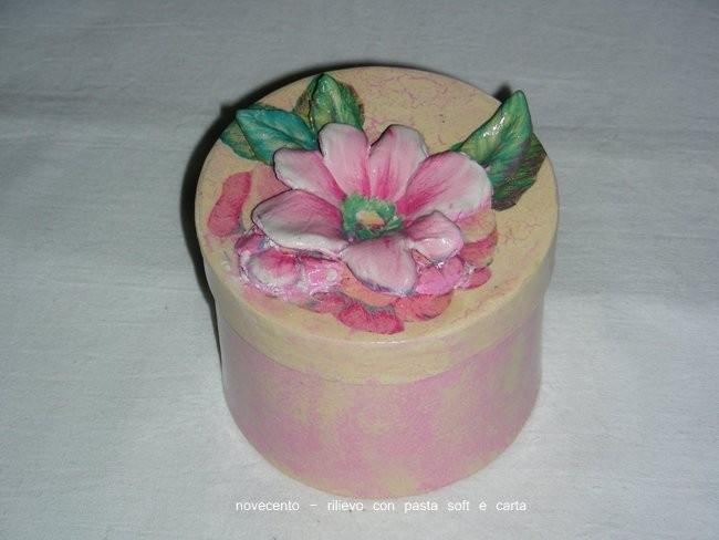 fiore con pasta soft finitura vernice triplo spessore