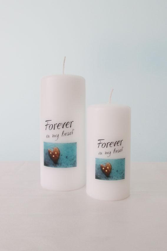 Trauerkerze Forever