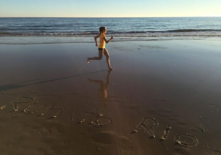 "Olympiaprojekt von Isabell Tegen ""Run to Rio"""