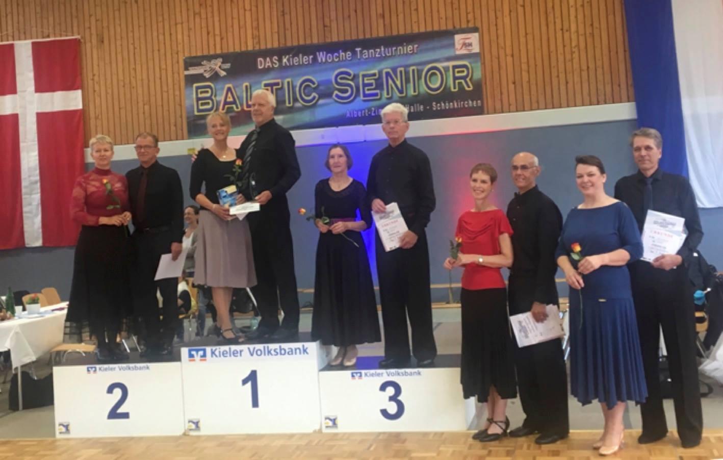 Rönnauer Paar gewinnt Baltic Senior Tanzwettbewerb