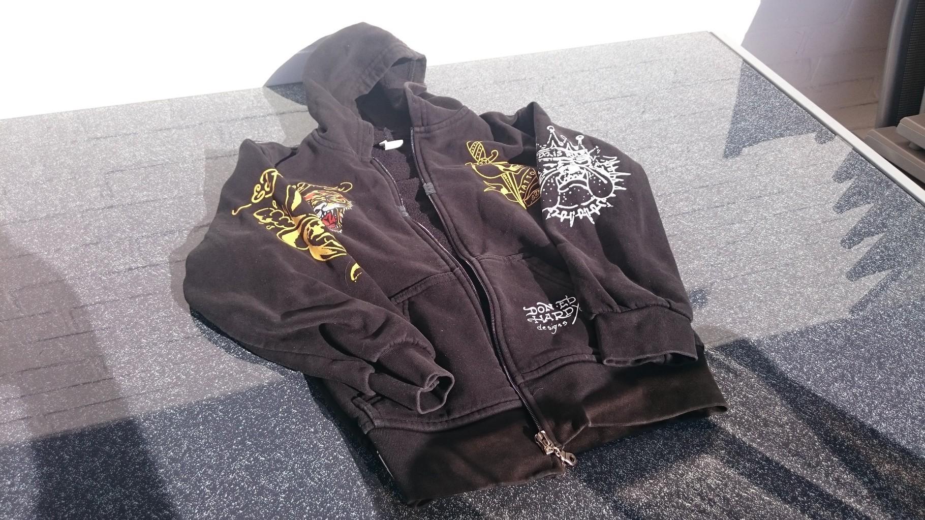 1 Jugend-Jacke mit Kaputze