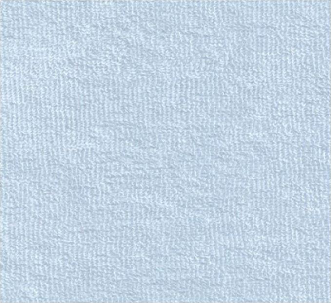 Weicher Frotteestoff aus Bambus Viskose - hellblau
