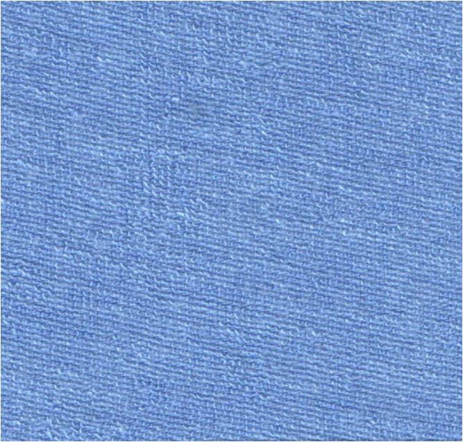 Weicher Frotteestoff aus Bambus Viskose - himmelblau