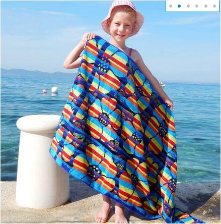 Bild Hersteller: Farbenfrohe Handtuch aus Bambus Viskose