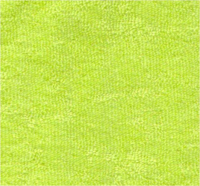 Weicher Frotteestoff aus Bambus Viskose - hellgrün