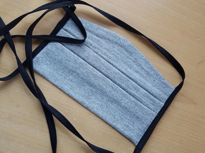 Elastische Gesichtsmasken - Behelfsmasken  aus Bambus Viskose Jersey