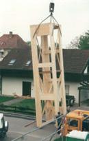 Holzaufzugsschacht - Architektur Erik Lorenz  Merzhausen  Freiburg