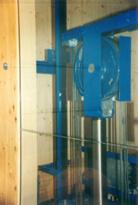 Aufzugsschacht aus Holz - Architektur Erik Lorenz  Merzhausen  Freiburg