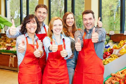 Besseres Verkäuferverhalten an der Kasse. Umsatzpotenzial ausschöpfen. Testkunden-Checks, Mitarbeiter-Sensibilisierung, Beratung, Coaching, Training für ein besseres Kommunikationsverhalten an der Kasse