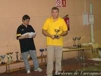 4º Clasificado Individual: Campeonato de Catalunya 2007 Barcelona