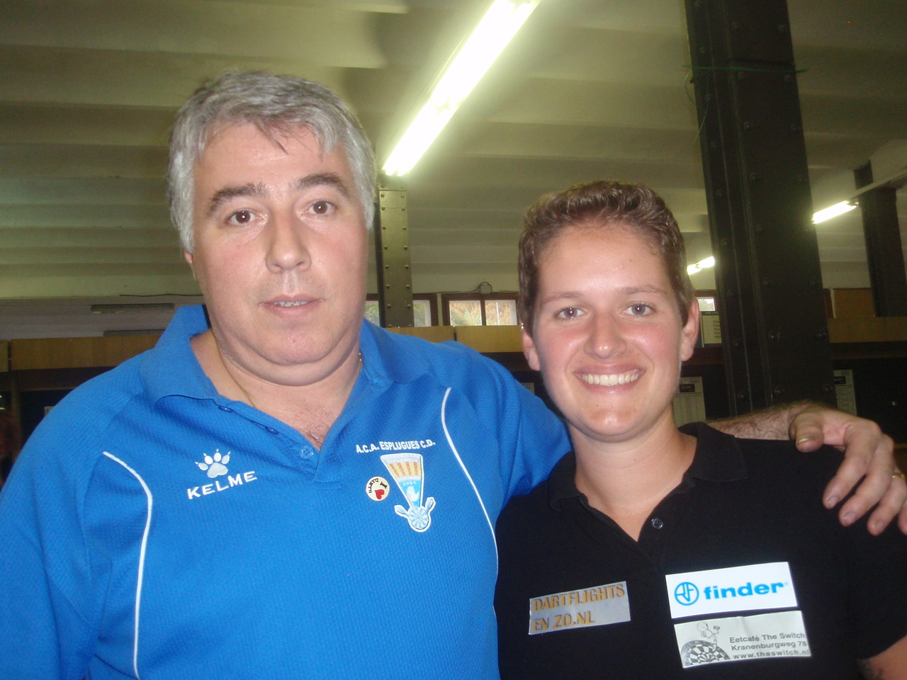 La Holandesa Sharon Prins Campeona