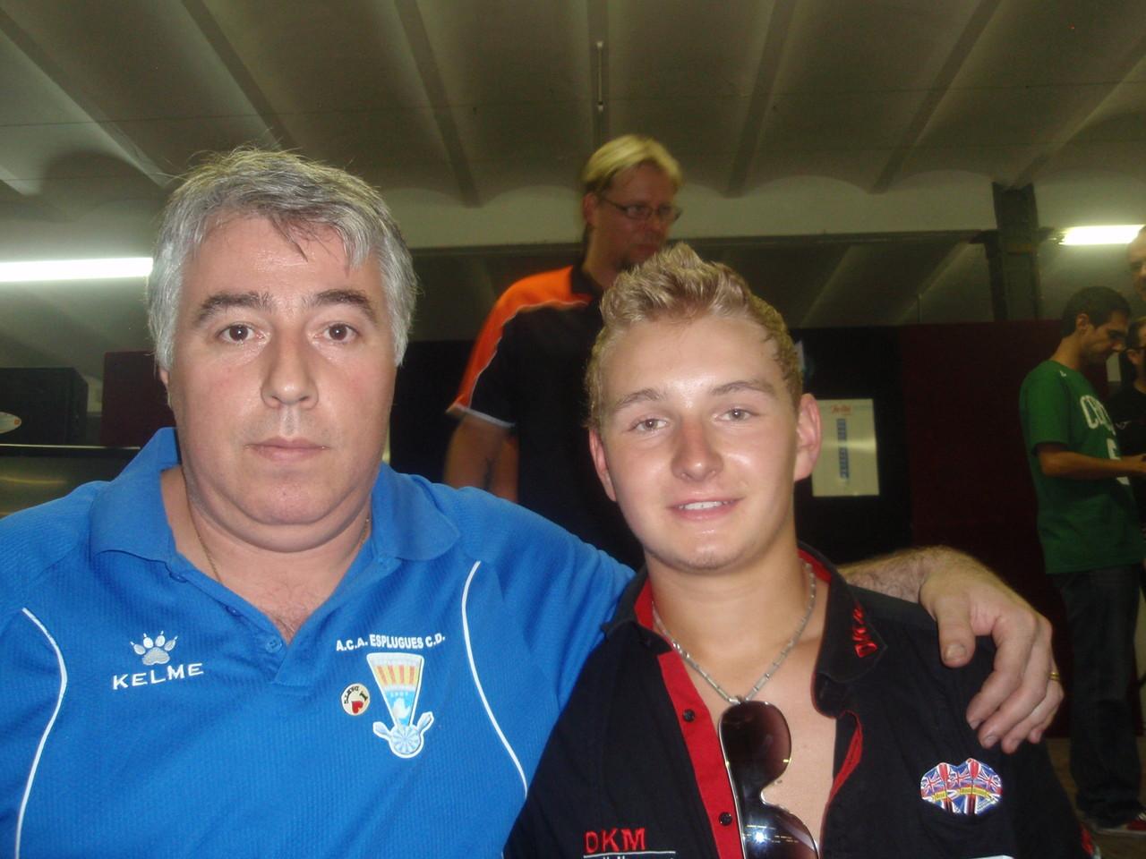 El Belga Dimitri Van Den  Bergh subcampeón