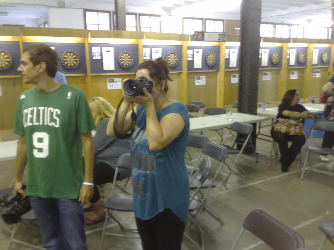 Helen:fotografiando a los ganadores
