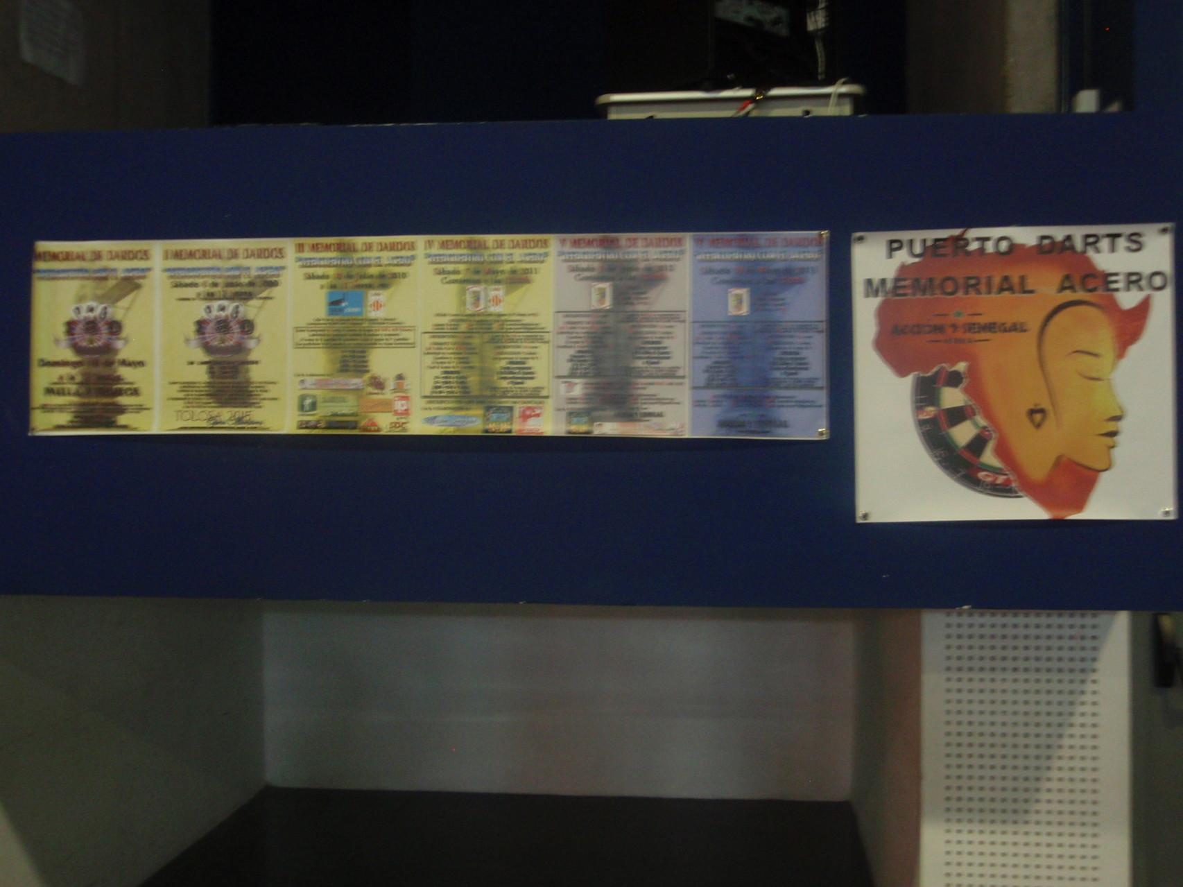 Los carteles de los anteriores campeonatos