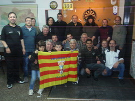 Foto partido 1ª vuelta jugado en Esplugues