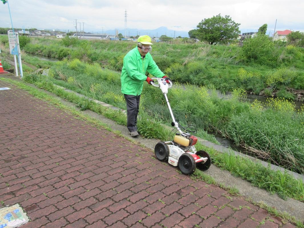 草刈り訓練