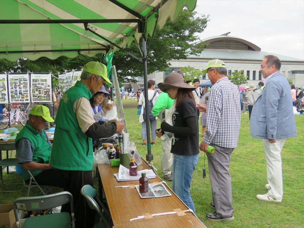 竹酢液、竹炭の配布、熊本災害義援金への協力ありがとうございました