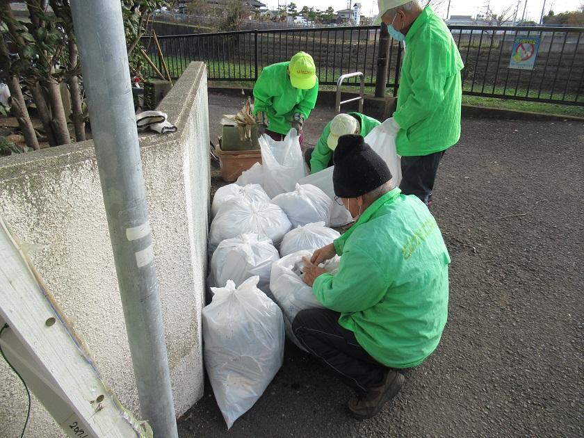 ゴミの分別_中里公園集積所