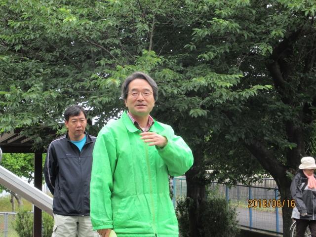及川新会長の挨拶