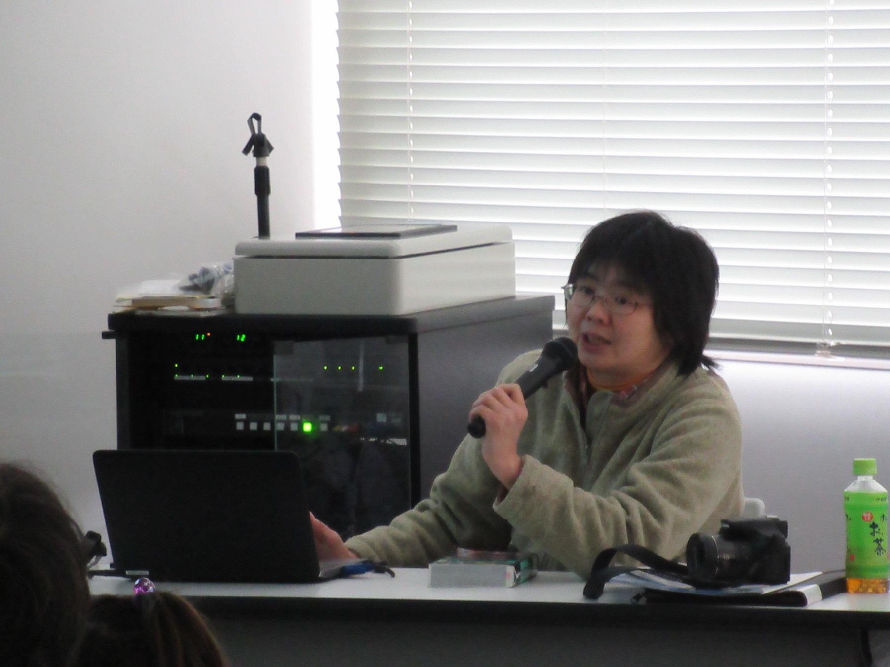 加藤さん(講師)
