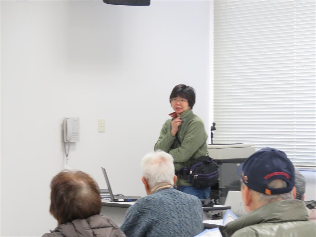 県立生命の星・地球博物館 加藤主任学芸員の講義
