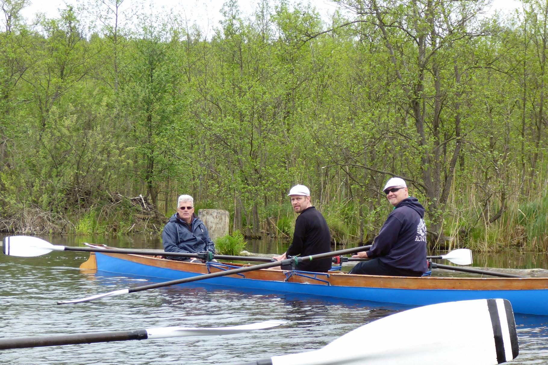 Herrenzweier mit Karsten, Holger und Matthias.