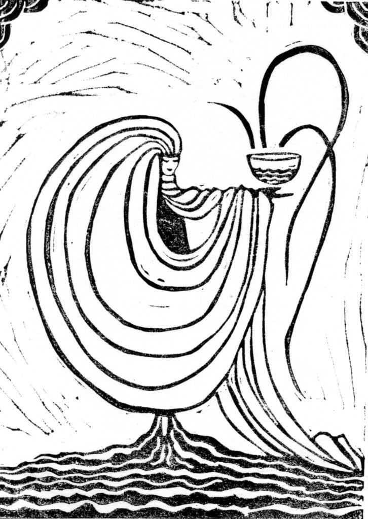 Dame Blanche, pour l'exposition Climat, à nos risques et périls, aux Archives de Lyon, 2012-13