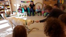 Anne mit Nuk um Kindergarten