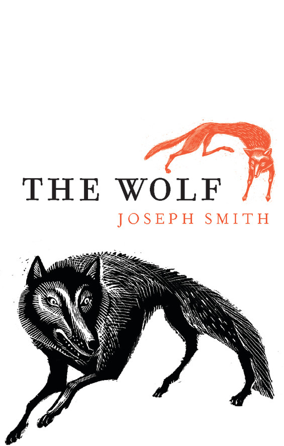The Wolf by Joseph Smith, cover illustrated by John Spencer