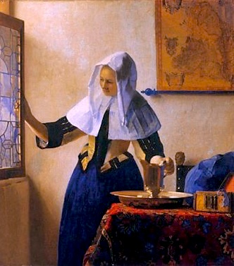 The Water Maid/ After Vermeer/ Sold