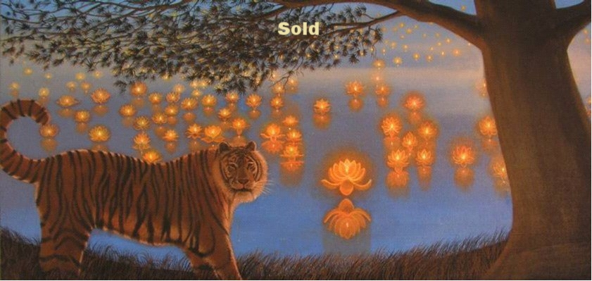 The Tiger and the Lotus Pond/ Not for Sale