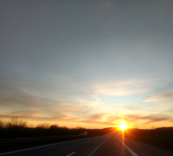 Sonnenuntergang Foto: Christiane Scheibler