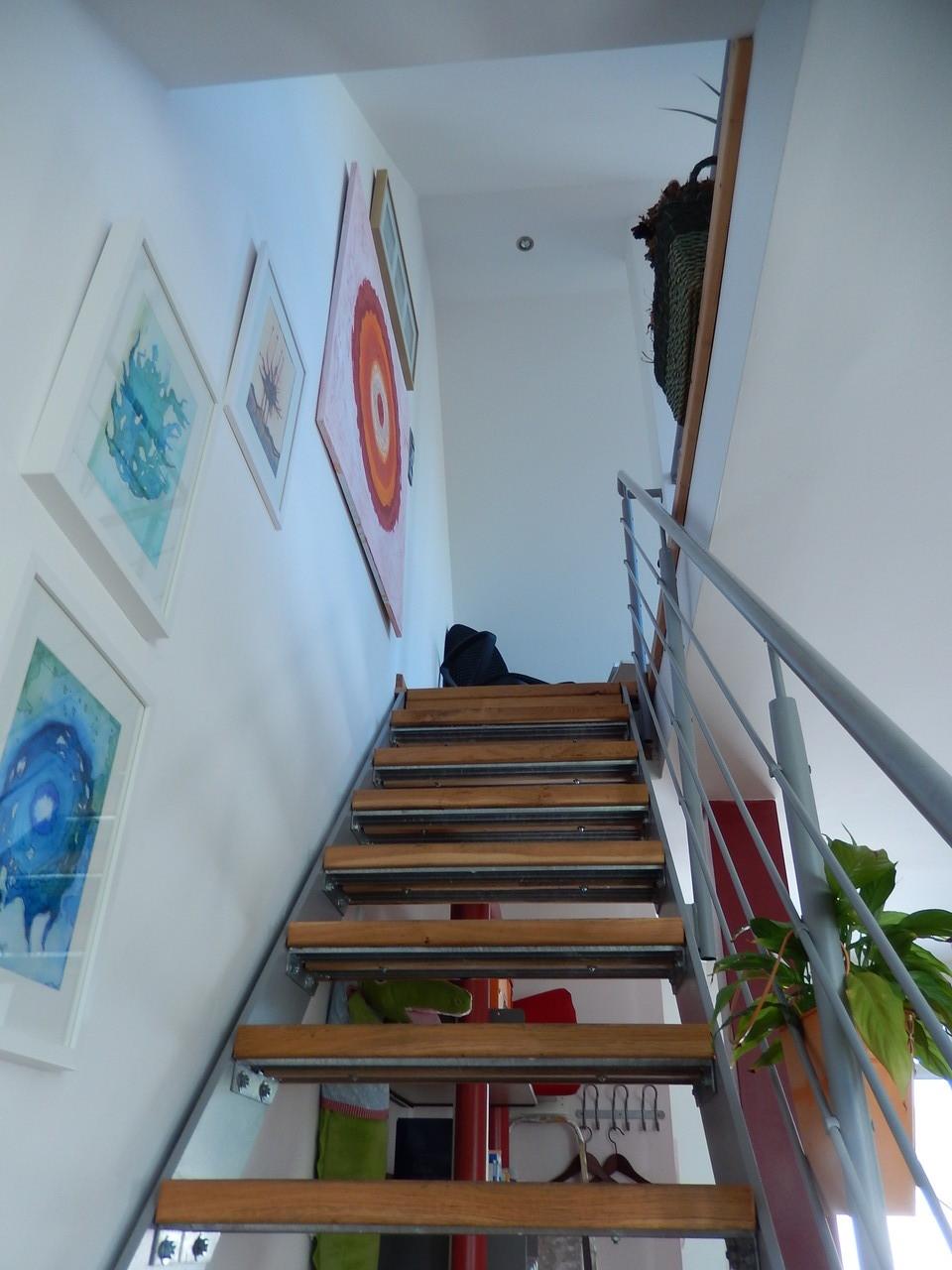 Aufgang 2. Ebene