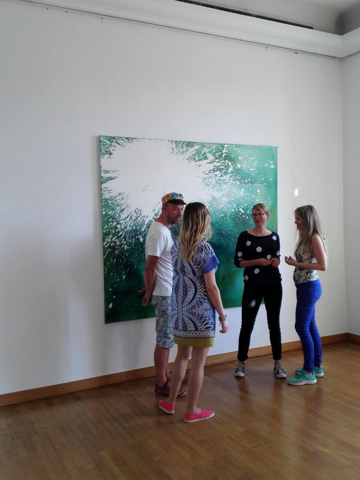 """Ausstellungsansicht """"Barbados"""", Kunstverein Schwetzingen 2016"""