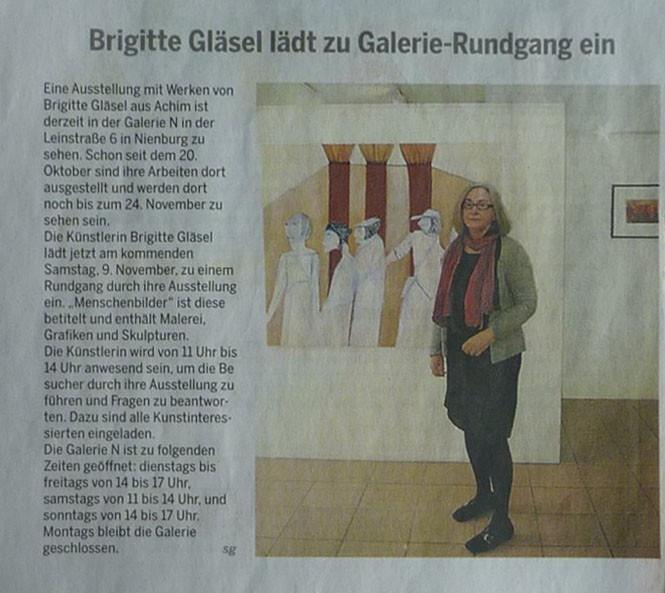 Pressebericht Ausstellung Menschenbilder Die Harze 6. November 2013