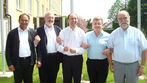 P. James Patteril,  P. Alois Andelfinger,  P. Stefan Wolf,  P. Alfons Schmid,  P. Wolfgang Deiminger