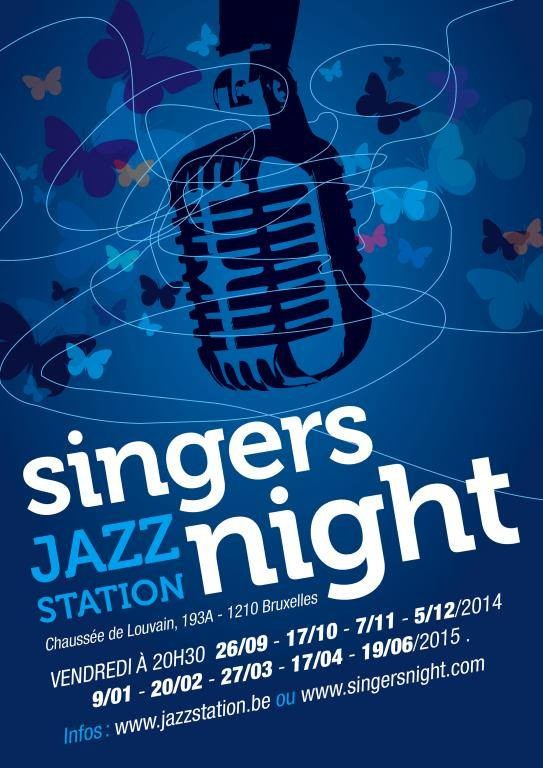 Singers Night @ Jazz Station - BXL