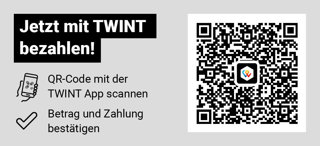 Neu: Startgeld mit TWINT bezahlen
