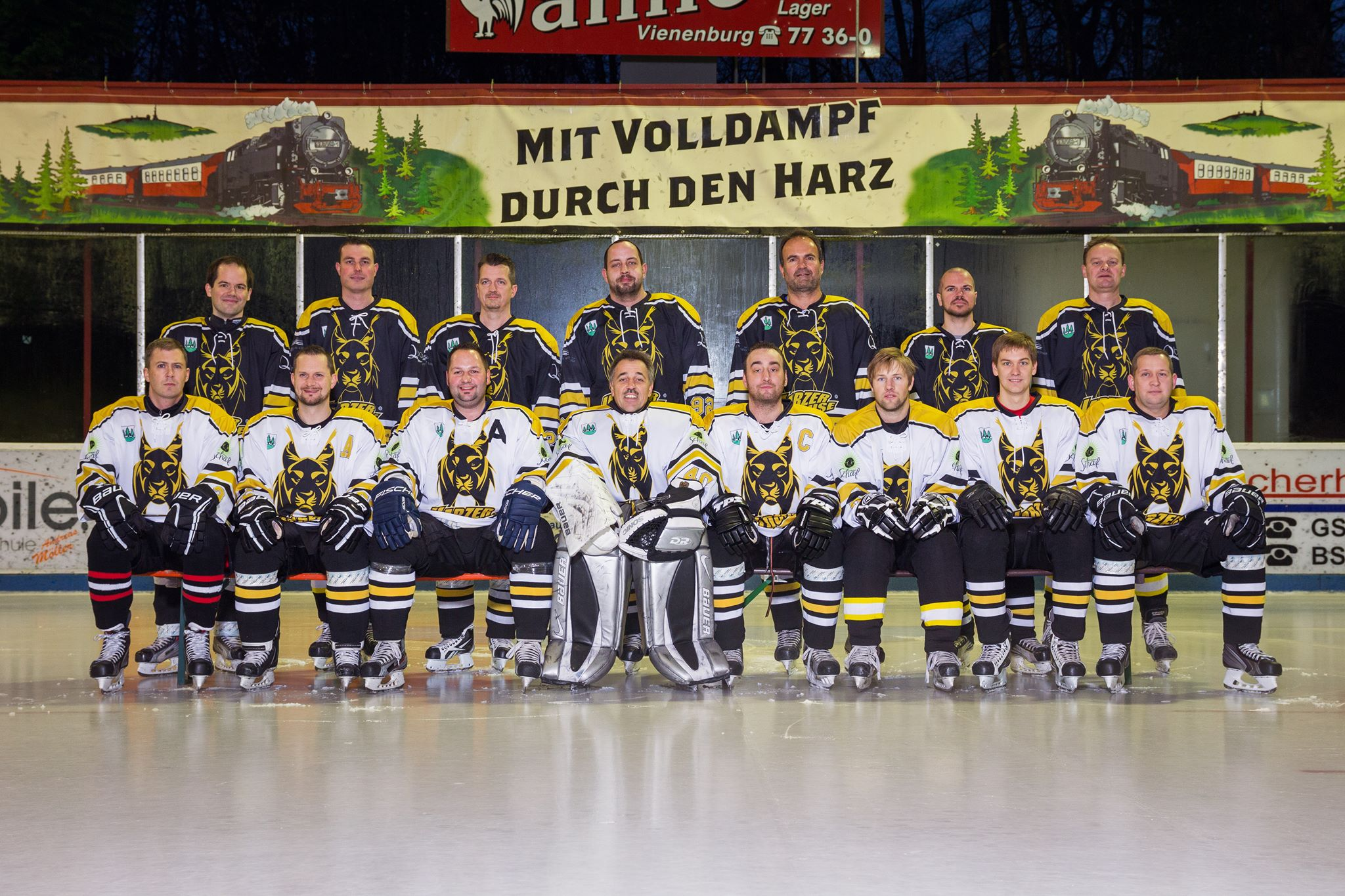 Harzer Luchse im Eisstadion Braunlage 2014