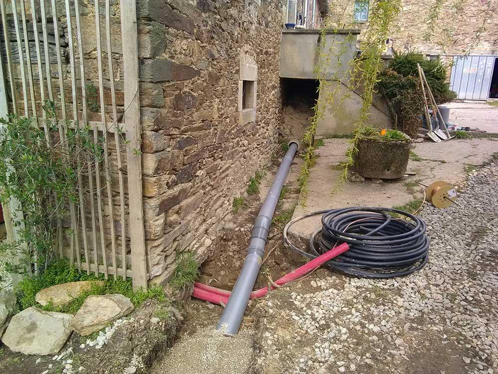 ED-TP réseaux eaux pluviales - électricité - divers